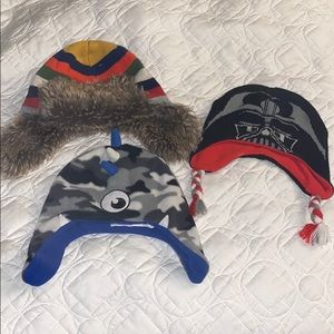BUNDLE Boys Winter Hats